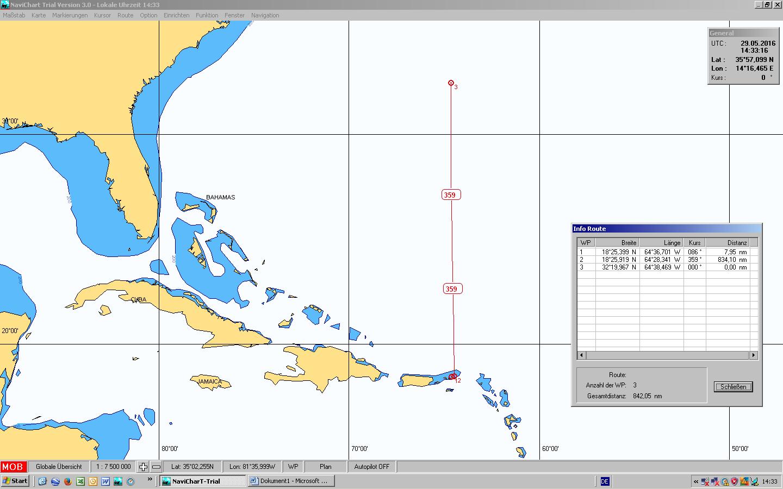 Tortola BVI – Bermuda 850 sm 6.Mai – 12. Mai 2018
